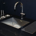 WETT Solutions kitchen bench drain, bench mounted drainage for homes and bars.