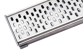 WETT Solutions Quattro linear channel drain for residential and commercial wet areas. Australian owned and made.