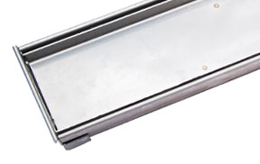 WETT Solutions Tile Insert linear channel drain for residential and commercial wet areas. Australian owned and made.