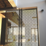 Custom ornate screens by WETT Solutions, Sydney.